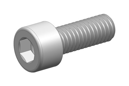 M6x16 STL STEEL ALLEN SCREW DIN912