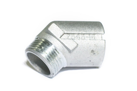 PRESSURE RELIEF VALVE DEFLECTOR FITTING