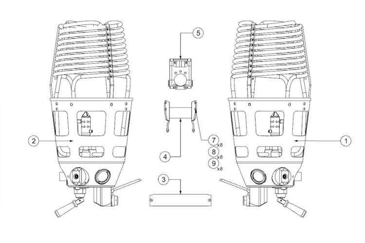 DOUBLE BURNER MK-21